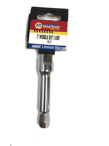 "Napa Nb-33 3 Inch Wobble Extension 3/8"" Dr. - Made In USA"