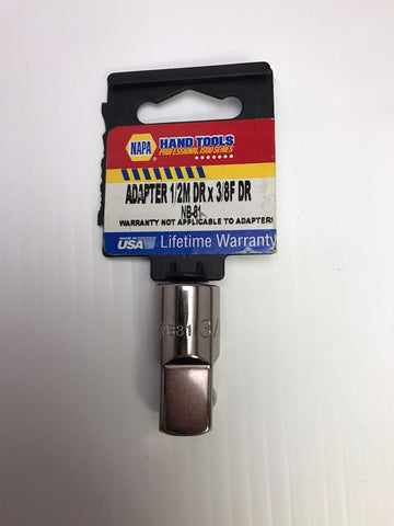 "Napa Nb-81 Adapter 3/8 Inch To 1/2"" Dr. - usa"