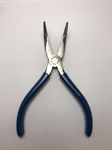 Napa 6 Inch Curved Needle Nose Plier W/ Grip P-49 - USA