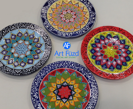 Dec 1 and Dec 2, 2018 ~ Hand Painted Art Workshops at Art Füzd Schaumburg