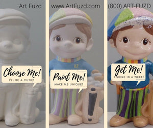 Art Fuzd Pottery To Go Kits - Store Pickup Services
