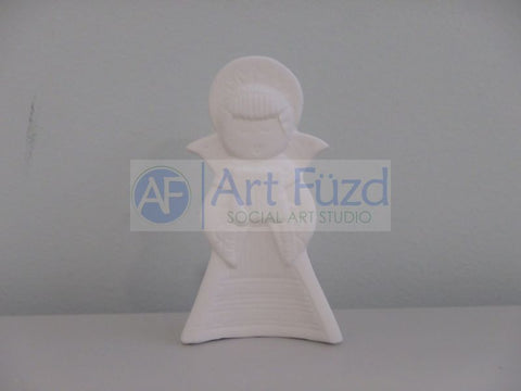 Mini Standing Angel Figurine ~ 2.25 x 0.75 x 3.75