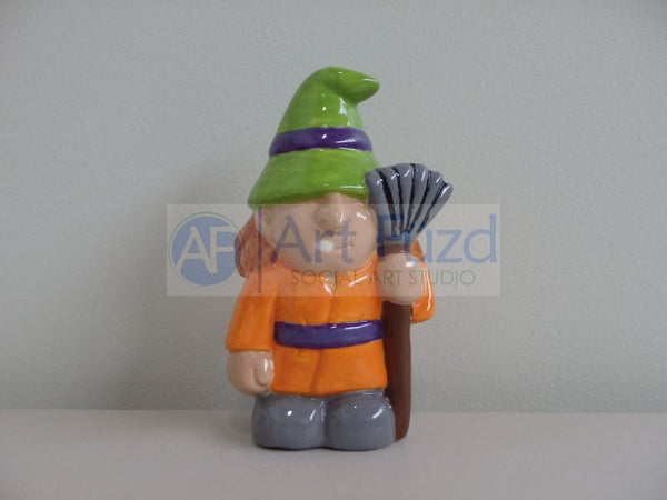 Small Edna the Witch Figurine ~ 3 x 2.25 x 5