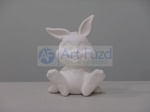 Buster The Bunny Figurine ~ 4 x 2.75 x 5.25