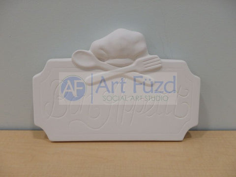 Bon Appetit Tile Plaque ~ 12.25 x 8.25