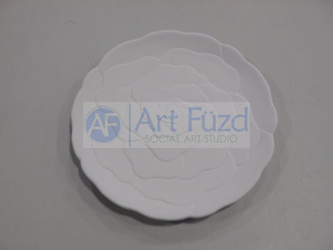 Small Rose Dish ~ 8.25 in. dia. x 0.75 high