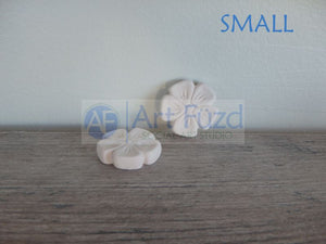 Small Cute Flower Bisquie ~ 1.25 x 1.25 x 0.25