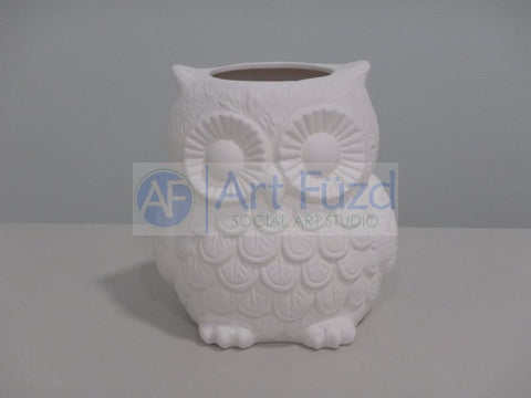 Large Big Owl Holder ~ 6.25 x 5.75 x 7