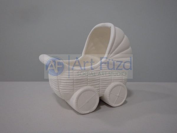 Baby Bassinet Container with Wheels ~ 5 x 3.25 x 4.25