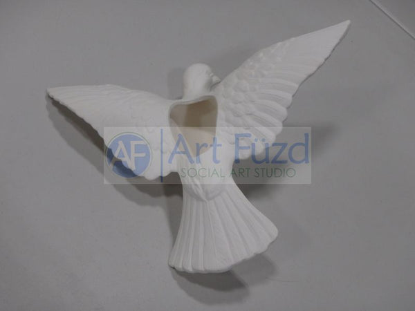 Large Hanging Dove Figurine ~ 15 x 10.25 x 4
