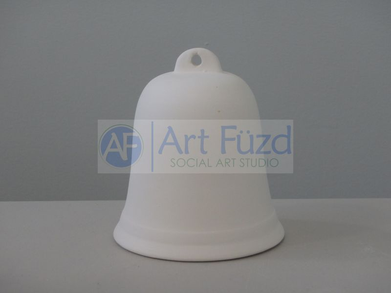 Large Plain Bell Figurine ~ 3.5 in. dia. x 4 in. high