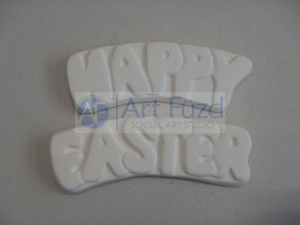 Medium Flat Word Banner Set - Happy Easter ~ 3 x 1.25 and 3 x 1.25