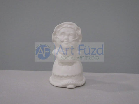 Small Mrs Claus Blowing a Kiss Figurine