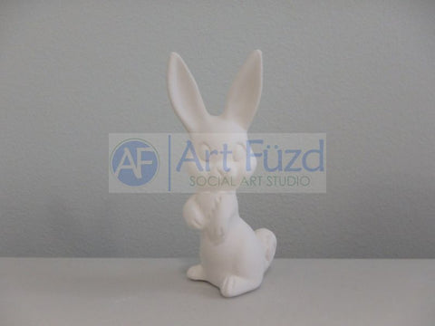 Small Standing Rabbit Figurine ~ 1.25 x 1.75 x 3.25