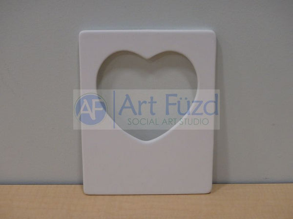 Vertical Heart Message Frame, includes Glass and Easel ~ 5 x 7