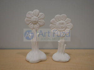 Small Flower Figurine (2 designs) ~ 4.5 or 5.5 in. high