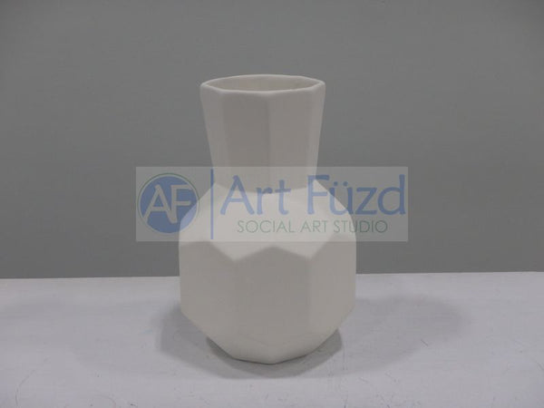 Faceted Bud Vase ~ 4 x 6