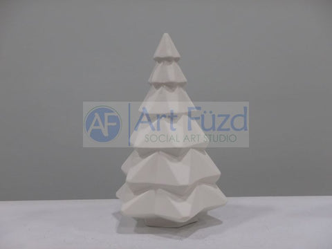 Medium Faceted Christmas Tree ~ 10 in. tall