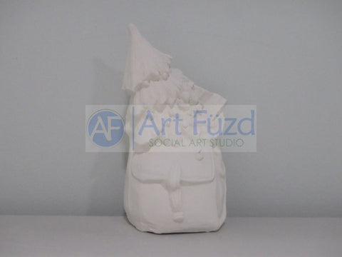 Large Sack with Toys and Christmas Tree Figurine