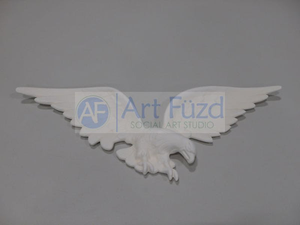 Large Flat Eagle Wall Plaque ~ 22.5 x 8.5 x 1.5