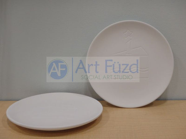 Party Cake Signature Plate ~ 7.75 in. dia.