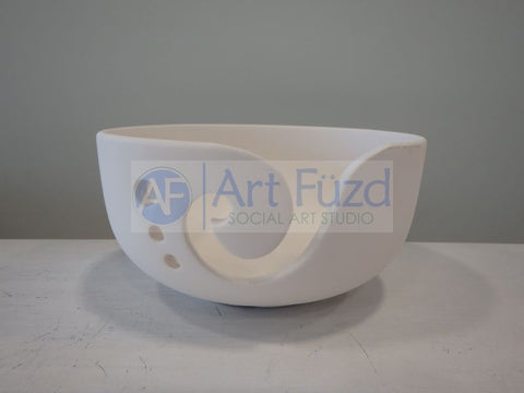Yarn Bowl ~ 6.25 in. dia. x 3.25 in. high