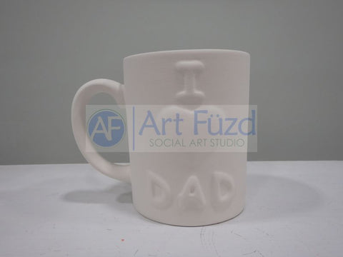 I Love You Dad Mug ~ 3.25 dia. x 4