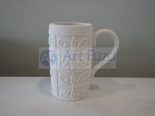 Tin Ceiling Mug ~ 2.75 in. dia. x 5 in. high