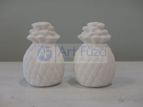 Pineapple Salt and Pepper Shaker Set, includes Stoppers ~ Each 2 x 3