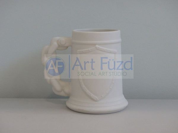 Large Shield Stein (24 oz.) ~ 6 x 3.5 x 6