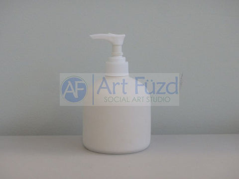 Small Soap Pump Dispenser ~ 3.25 in. dia. x 5.5 in. high