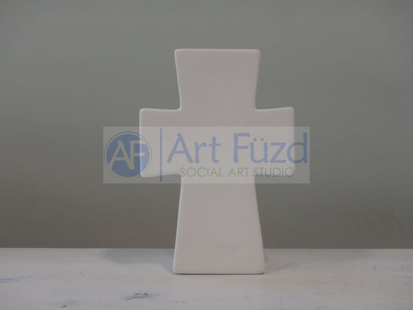 Contemporary Cross Standing Plaque ~ 5.5 x 8