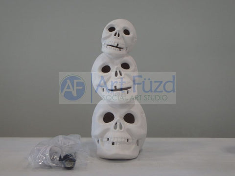 Skull Stack, includes Light Kit ~ 4 x 9.5