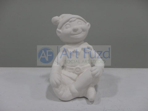 Sitting Elf Figurine ~ 5 x 3.5