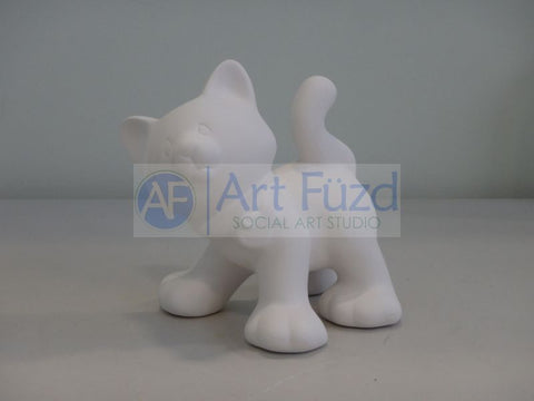 Standing Cat Figurine ~ 4.75 x 5.5