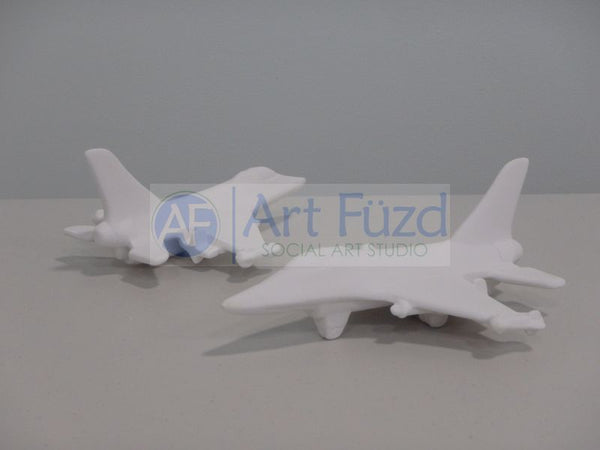 Fighter Jet Figurine ~ 8.25 x 6.25 x 3.25