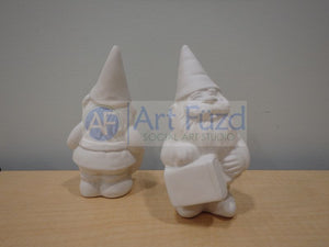 Traveling Gnome Figurine ~ 3 x 5.5