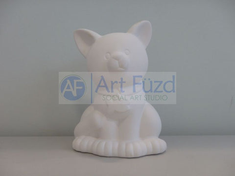 Large Cat Biggy Bank, includes Stopper ~ 6.25 x 9.25