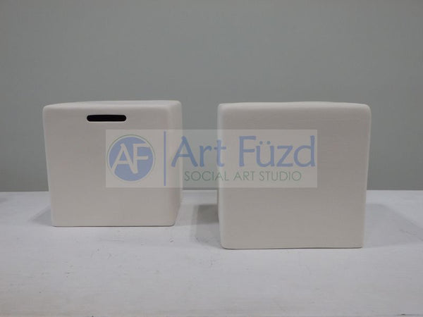 Cube Bank-A-Print Bank, includes Stopper ~ 4.5 x 4.5