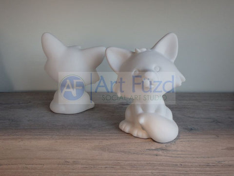 Fox Party Animal ~ 3.75 x 4.75