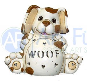 Personalized Dog, includes Light Kit ~ 12 x 10 ~ Two lines, up to 7 and 7 letters