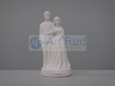 Formal Dress Bride and Groom Figurine ~ 3.25 x 2.5 x 6.25