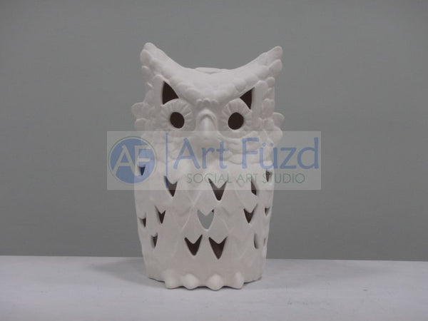 Large Owl Lantern, includes Light Kit ~ 6.5 x 5 x 10.5