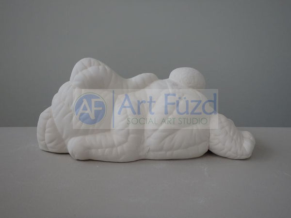 Large Sleeping Softee Rabbit Figurine ~ 11 x 5 x 4.5