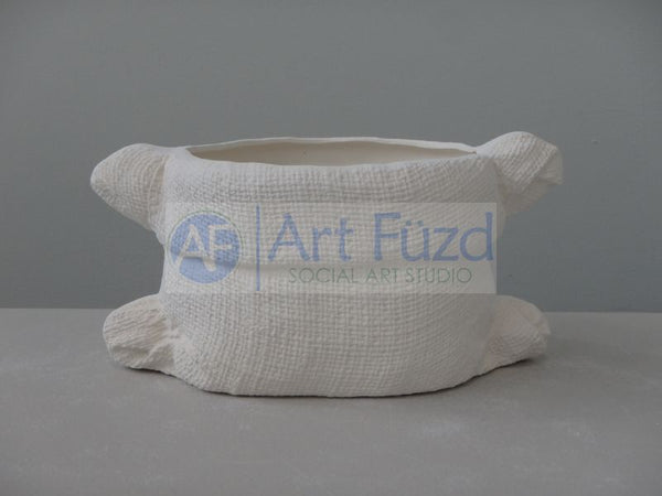 Medium Burlap Sack Container ~ 7.75 x 4.25 x 3.75