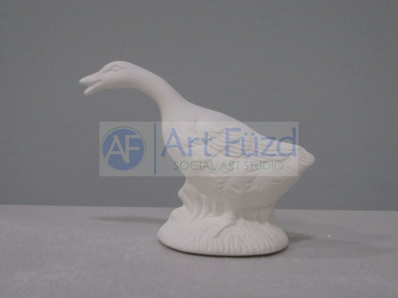 Miniature Duck Stretched Forward ~ 3 x 1.25 x 2