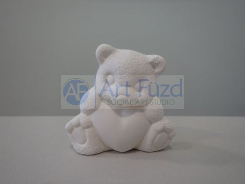 Miniature Teddy Bear Figurine ~ 2.25 x 1 x 2.25