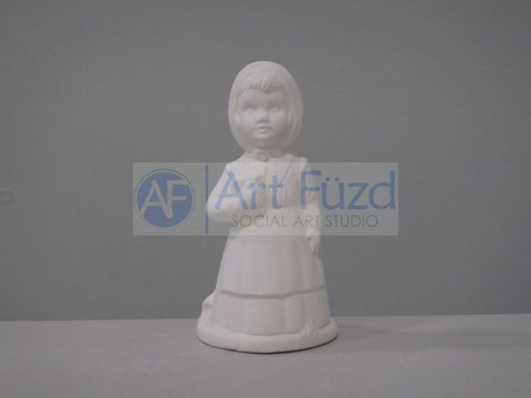 Small Amish Girl Figurine ~ 2.25 x 2 x 4