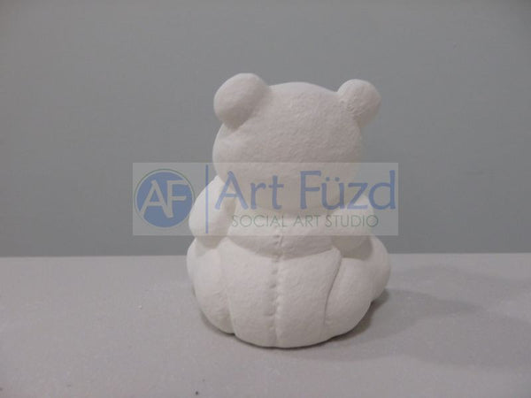 Small Calendar Bear Figurine for month of February ~ 2.5 x 1.75 x 3