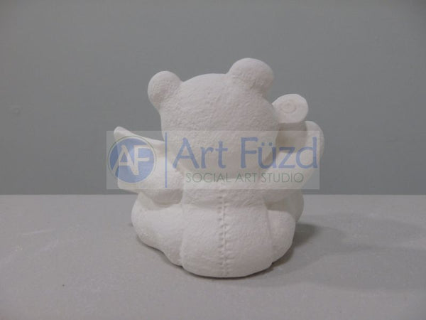Small Calendar Bear Figurine for month of March ~ 3 x 2.25 x 2.75